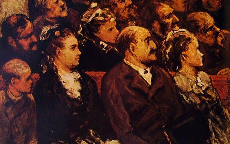 Fabiuccio Maggiore : Spettatori a teatro ITALIA